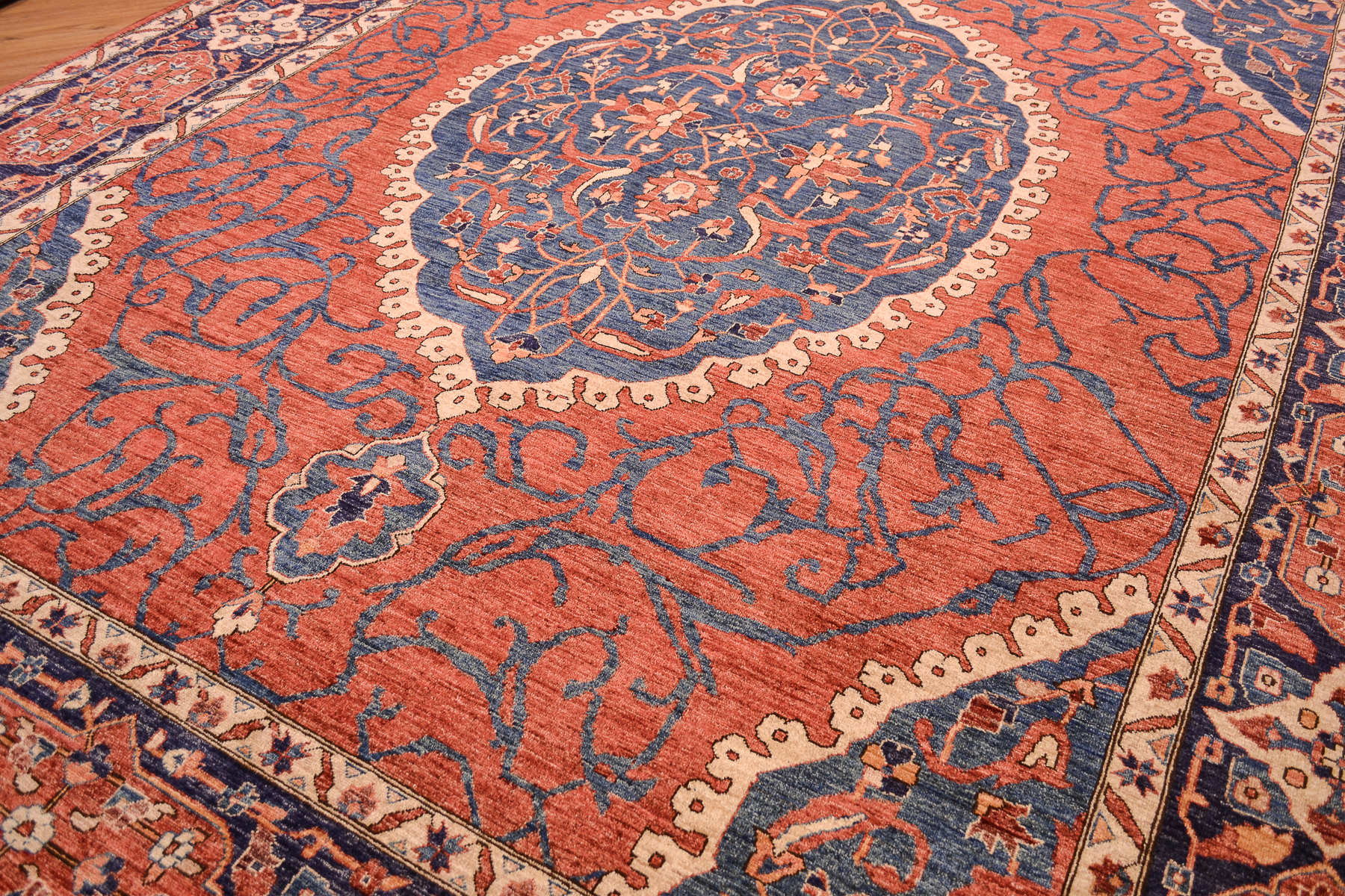 Fine Afghan Aryana Carpet 3 58x2 79m The Oriental Rug