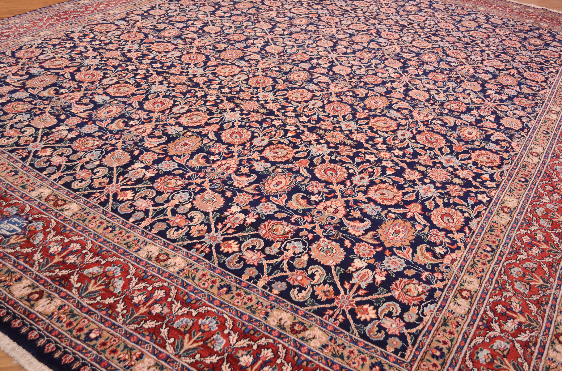 Fine Persian Moud Carpet 4 00x3 02m The Oriental Rug