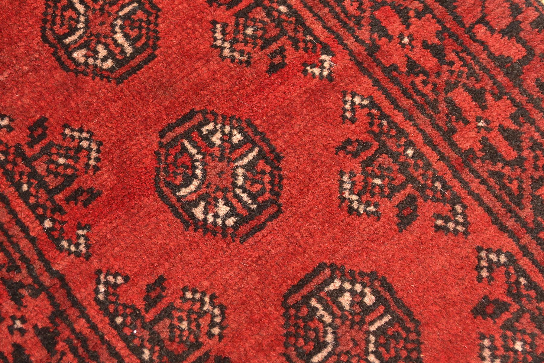 Aqcha Bokhara Strip 1 70x0 60m The Oriental Rug Merchant
