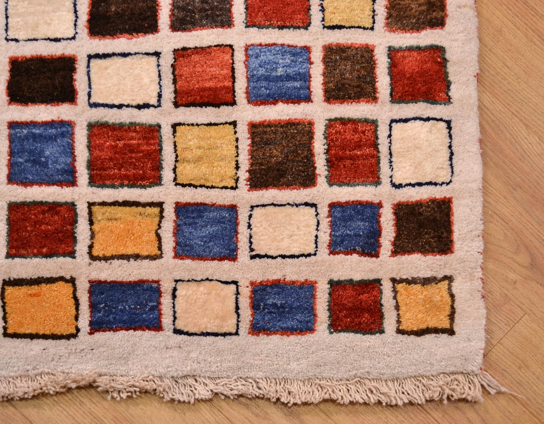 Gabbeh Modern Runner 1 96x0 91m The Oriental Rug Merchant