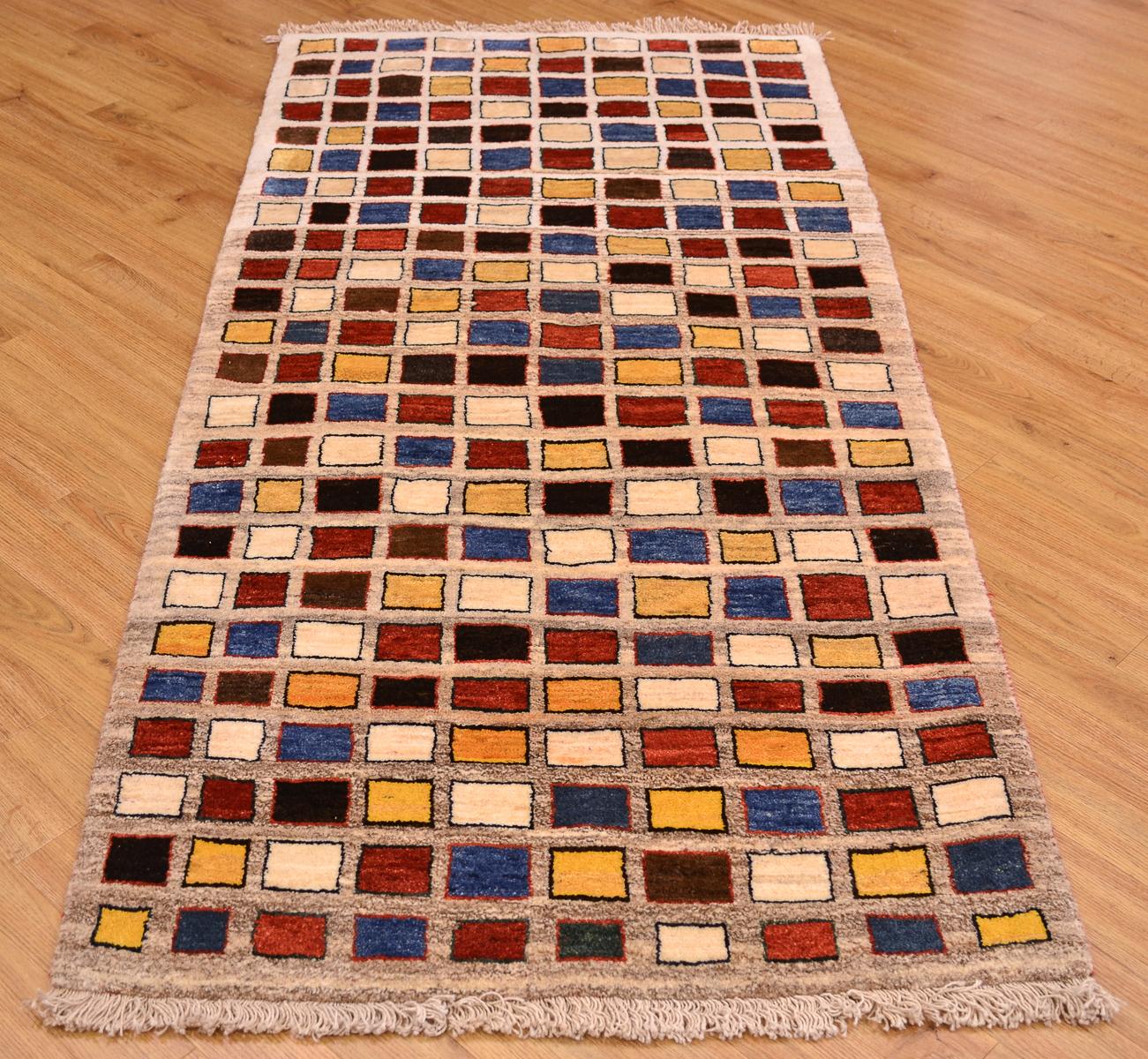gabbeh modern runner 1 96x0 91m the rug merchant