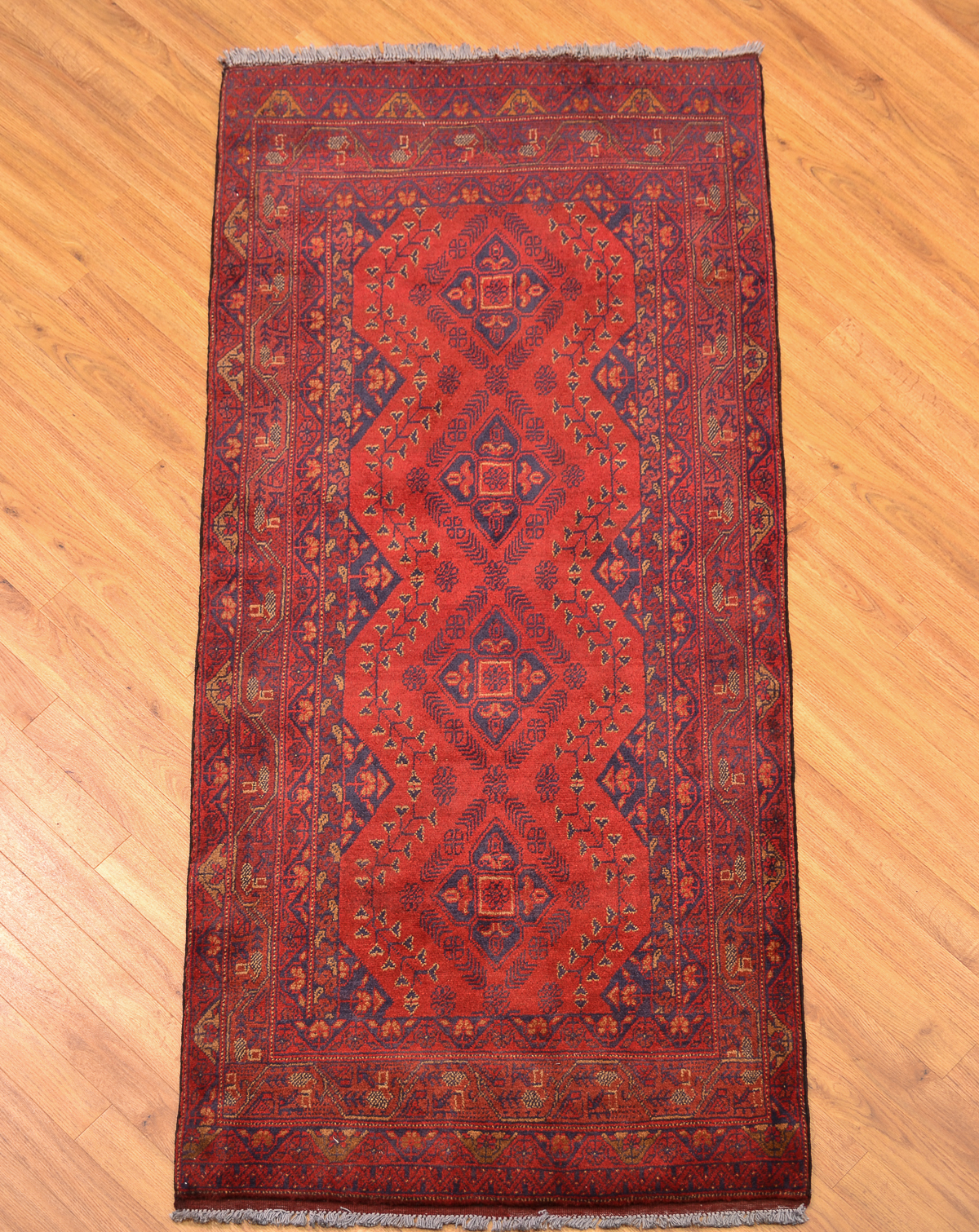 Khan Mohamadi Runner 1 89x0 87m The Oriental Rug Merchant