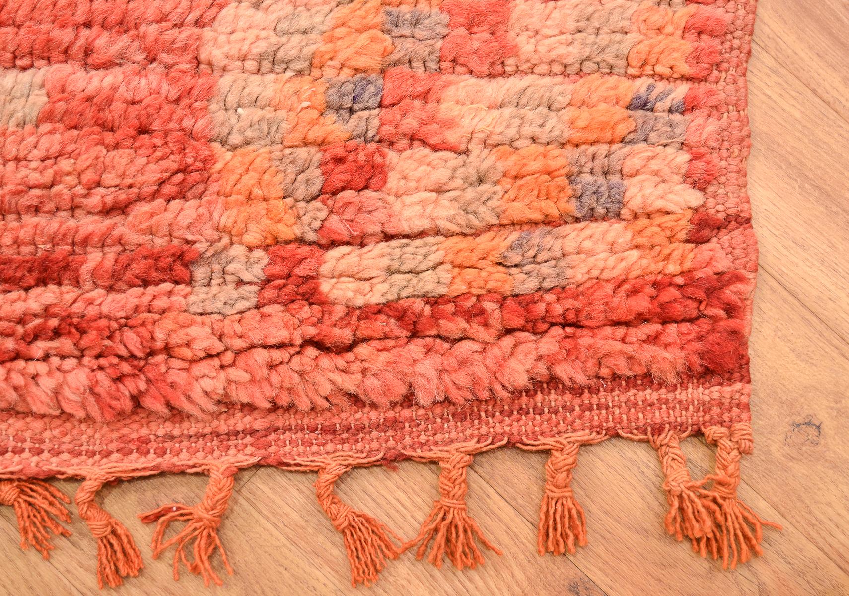 Vintage Boujad Carpet 2 63x1 62m The Oriental Rug Merchant