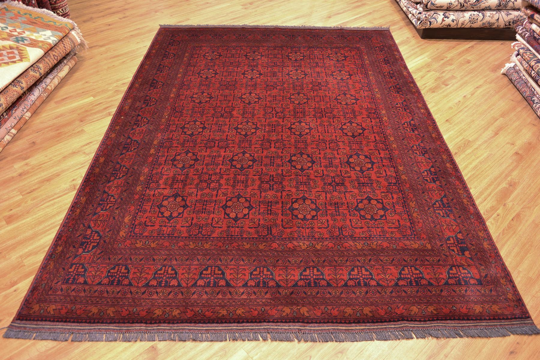 Afghan Khan Mohamadi Carpet 2 88x2 06m The Oriental Rug