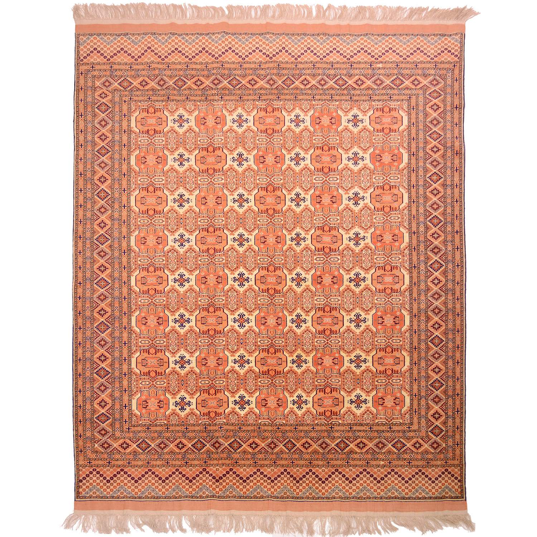 Fine Afghan Silk Wool Carpet 2 76x2 24m The Oriental Rug Merchant
