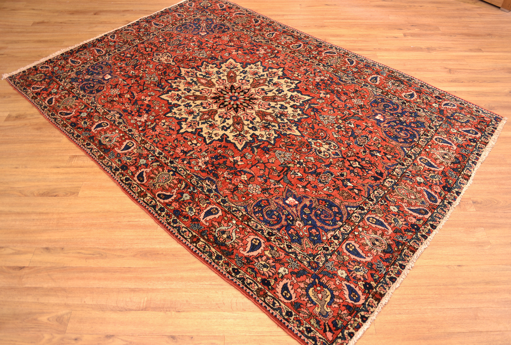 Persian Antique Bakhtiar Rug The Oriental Rug Merchant
