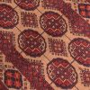 Camel colour Afghan Bokhara Khan Mohamadi Runner with pattern of 22 guls.