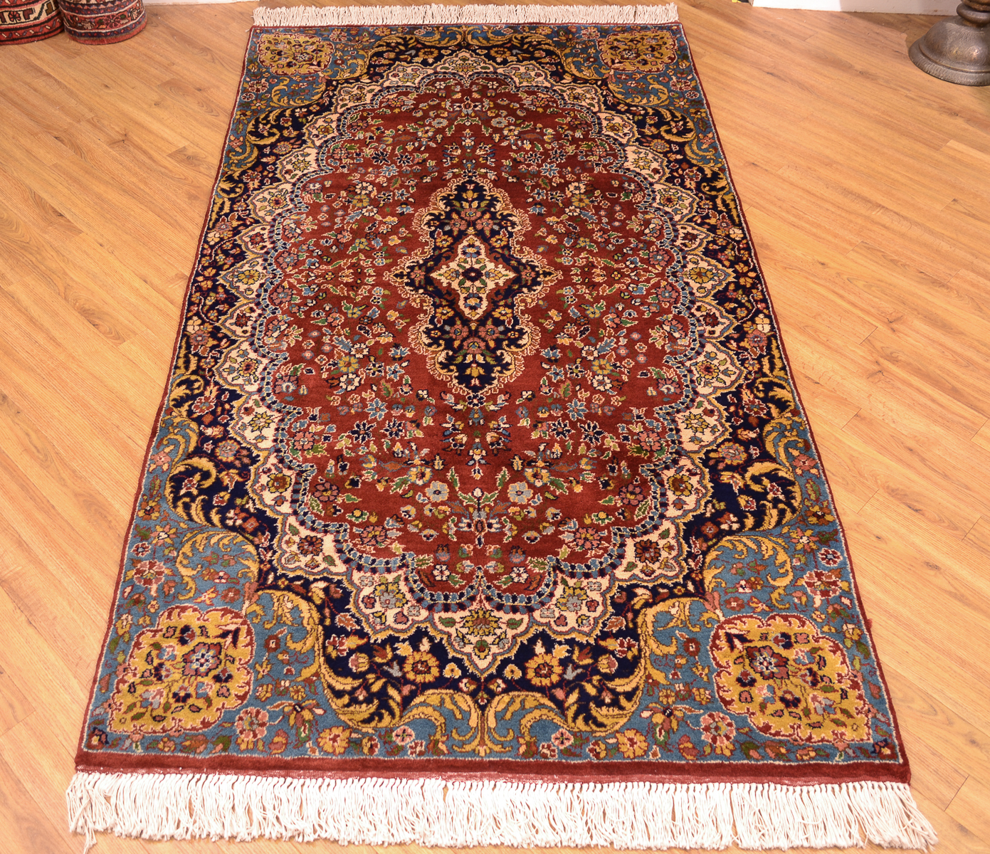 Hand Knotted Indian Amritsar Rug The Oriental Rug Merchant
