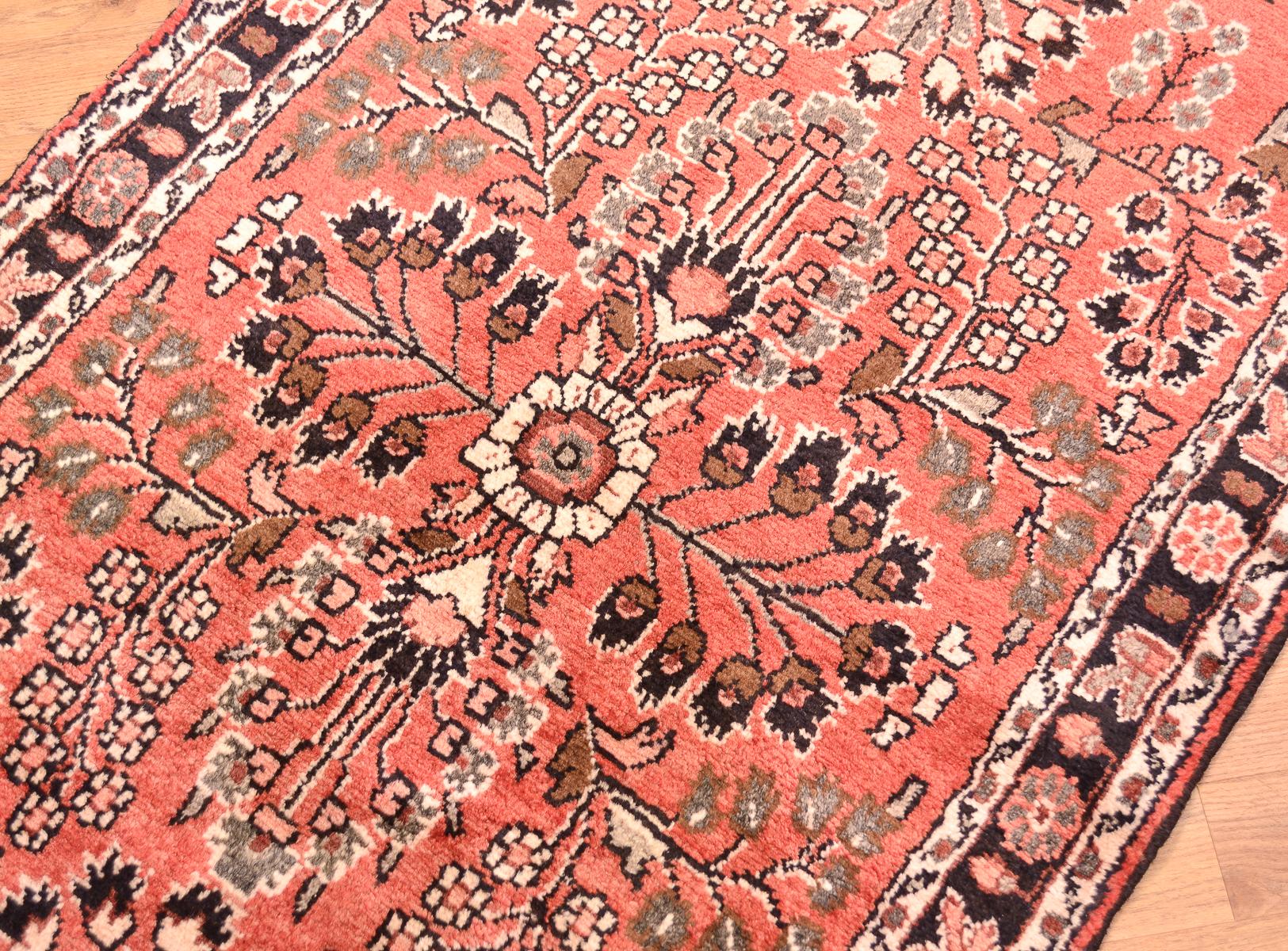 Handmade Long Persian Hamadan Runner The Oriental Rug