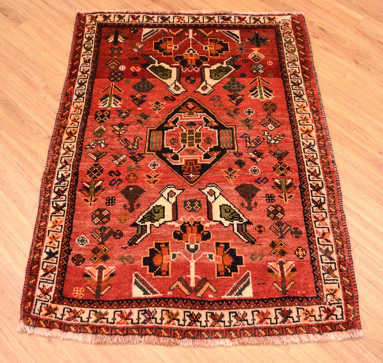Tribal Handmade Persian Qashqai Rug