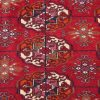 Russian Turkoman Bokhara Carpet with all over theme of Bokhara guls.