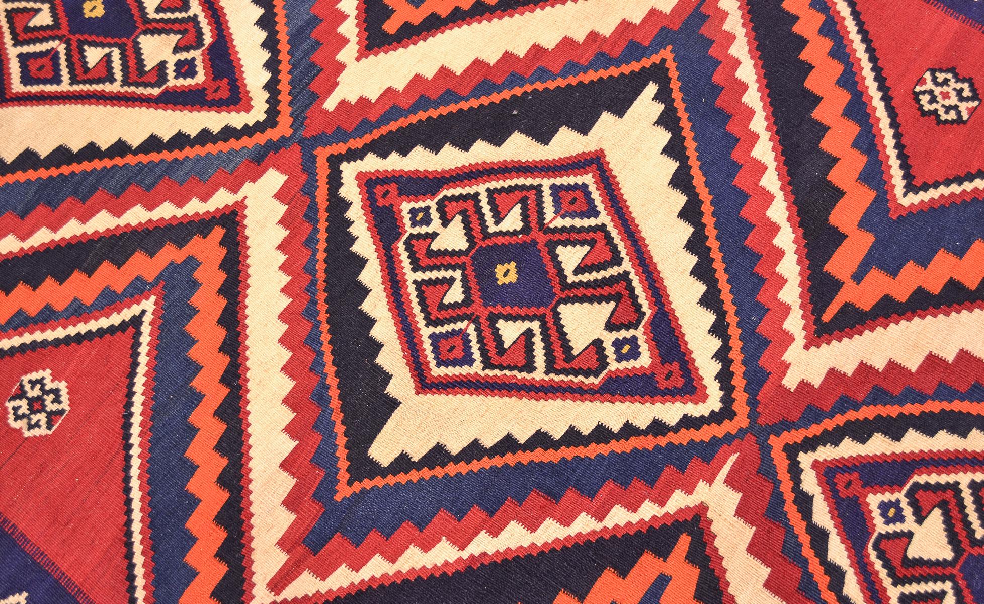 Persian Qashqai Kilim Rug 2 43x1 64m The Oriental Rug